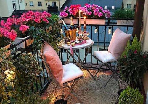 Idei pentru amenajarea unui balcon mic