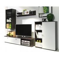 Biblioteca Calin Alb - Mobila Living 245 x 102 x 40 cm