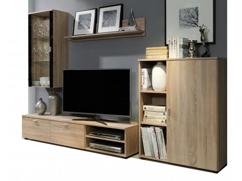 Biblioteca Calin - Culoare Stejar - Mobila Living-Sufragerie