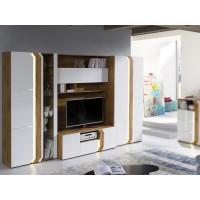 Biblioteca Loft – Mobila Living 302 x 196 x 58/42 cm