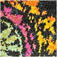 Covor Dreptunghiular Modern & Geometric Abbes Negru - C116-031303