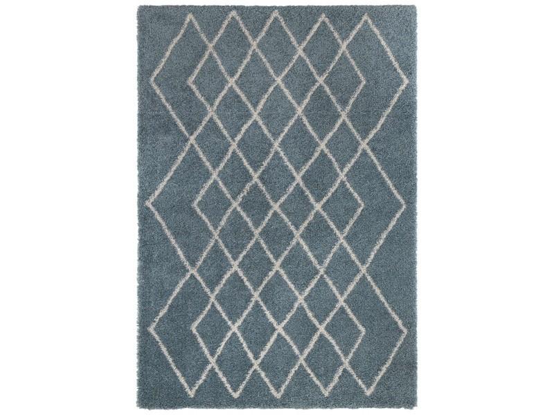 Covor Dreptunghiular Modern & Geometric Allure Albastru/Crem - C04-474724