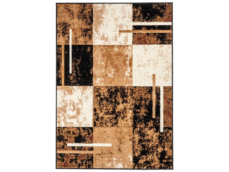 Covor Dreptunghiular Modern & Geometric Lapasic Maro/Bej - C05-0201113