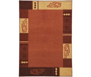 Covor Dreptunghiular Modern & Geometric Versailles Portocaliu - C44-1010709
