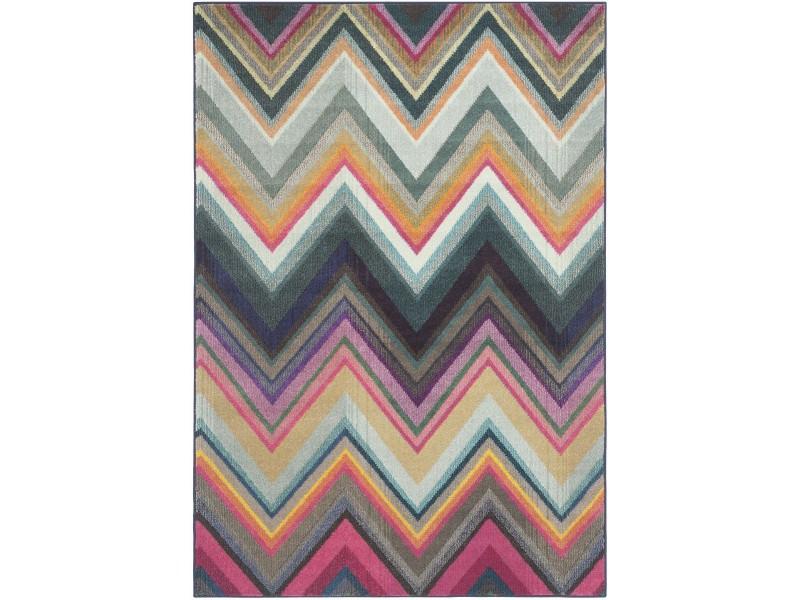 Covor Dreptunghiular Modern & Geometric Vista Multicolor  - C539-496429