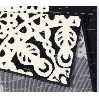 Covor Dreptunghiular Oriental & Clasic Gloria Negru - C04-471310