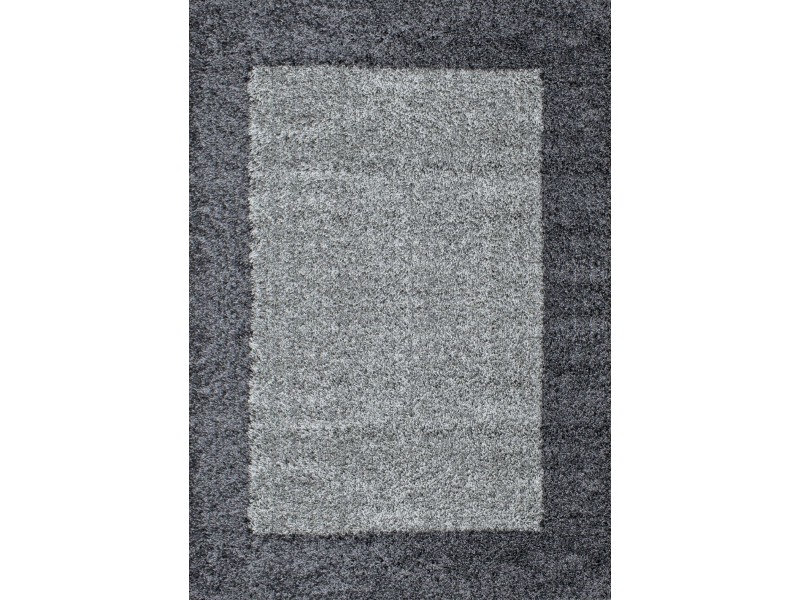 Covor Dreptunghiular Shaggy Louis Gri - C05-201249