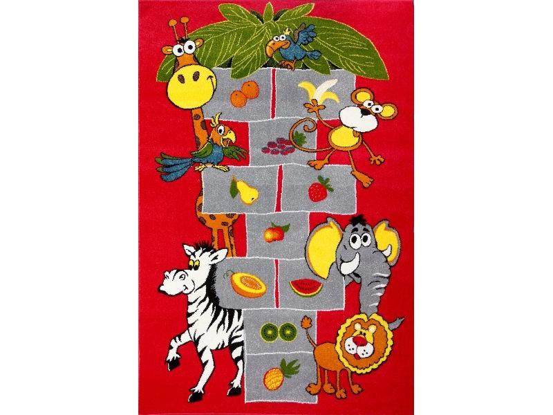 Covor Kolibri Copii Rosu Dreptunghi – 11120/120