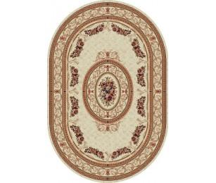 Covor Lotus Crem Oval - 567/100