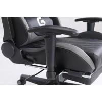 Scaun Gaming Genator V1 - Suport Picioare - Culoare Negru-Gri