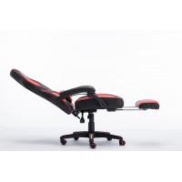 Scaun Gaming SIG 8069 - Functie Sezlong si Suport Picioare - Culoare Negru-Rosu