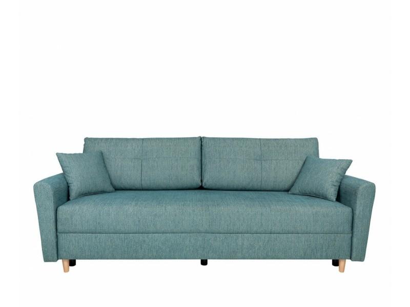 Canapea Extensibila - Aradena LUX 3DL - Culoare Turquoise