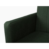 Canapea Extensibila - Beira 3K - Culoare Verde-Inchis