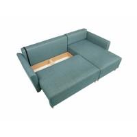 Canapea Extensibila - Coltar Aradena LUX 3DL URC - Culoare Turquoise