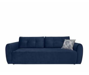 Canapea Extensibila - Divala LUX 3DL - Culoare Albastru-Închis