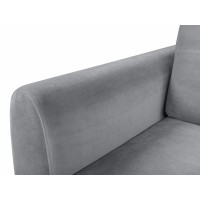 Canapea Extensibila - Divala LUX 3DL - Culoare Gri