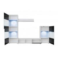 Biblioteca Lippi - Mobila Living 270x190x40 cm