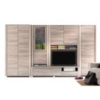 Biblioteca Nero - Mobila Living 338 x 200 x 53 cm