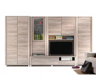 Biblioteca Nero - Culoare Stejar - Mobila Living-Sufragerie