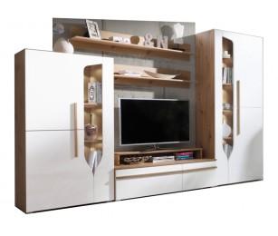Biblioteca Porto A - Mobila Living - Sufragerie 294x195x45 cm