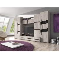 Biblioteca San Marino - Mobila Living 300x203x52 cm
