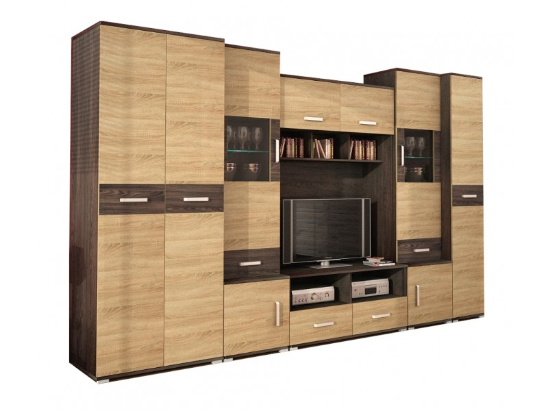 Biblioteca Tango - Mobila Living 300 x 206 x 50 cm