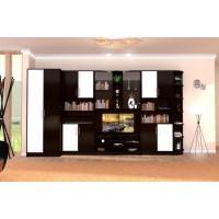 Biblioteca Iris - Culoare Wenge-Vanilie - Mobila Living-Sufragerie