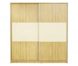 Dulap Haine - Milano Sonoma - Dressing Sifonier - Latime 206 cm