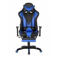 Scaun Gaming - US90 Suzuka - Culoare Negru-Albastru