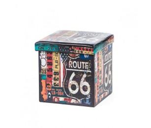 Taburet Design 38x38 Route 66